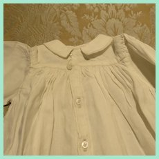 Very Fine Antique Hand Sewn Night Gown for French Fashion Doll