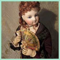 Exceptional Brise Miniature Fan for French Fashion