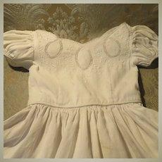 Child-Size Pique Soutache Dress
