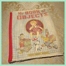 Fun Washable Cloth Children's Book - 1920s