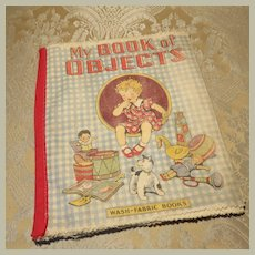 Fun Washable Cloth Children's Book - 1920s