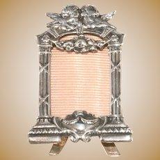 Mini Cherub Photo Frame Silver Plated Angels