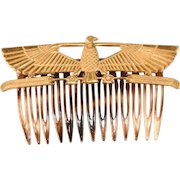 Miriam Haskell Egyptian Revival Hair Comb