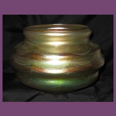 Very FINE Tiffany Studios Decorated FAVRILE Glass Vase.