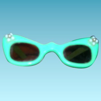 Vintage HTF 1950s Cissy Fancy Trimmed Sun Glasses
