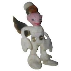"""Vintage HTF 1940's """"Jump Jump"""" Rare Angel Elf Doll"""