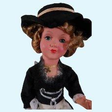 Vintage German Celluloid Glass Eyed Doll