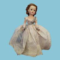 "Vintage 1950's Alexander Glamour Girls ""Queen Elizabeth II"" Doll All Original"