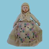 Vintage Lenci Mascotte Doll All Original