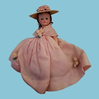 "Vintage 1950's Madame Alexander Boxed Cissette Doll ""Lady Hamilton"" All Original"