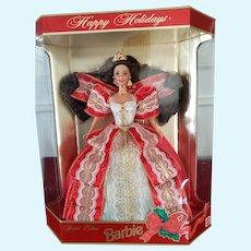 MIB 1997 Mattel Happy Holidays Special Edition Christmas Barbie Doll