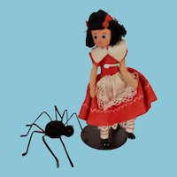 Vintage German Baps Little Miss Muffet and Her Spider Set