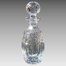 "Vintage Waterford Crystal Spirit Decanter ""Kylemore"""
