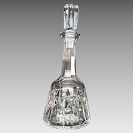 "Vintage Waterford Crystal Wine Decanter ""Kylemore"" Pattern"
