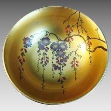 Vintage Japanese Lacquer Bowl