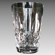 "Waterford Crystal ""Kylemore"" 5 oz Single Whiskey - Flat Tumbler - Vintage"