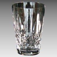 "Waterford Crystal ""Kylemore"" 5 oz Single Whiskey - Flat Tumbler - Vintage"