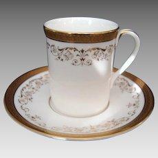 """Royal Doulton """"Belmont""""  Coffee Can - Demi Tasse"""