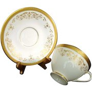 """Royal Doulton """"Belmont"""" Cup and Saucer -Finest English Bone China"""
