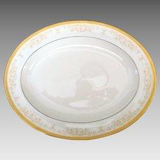 "Oval Serving Platter 13.5"" - Royal Doulton - Belmont"