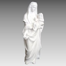 """Vintage """"Madonna and Child"""" Figurine - """"The Life of Christ"""" Sculpture Series - c1990"""