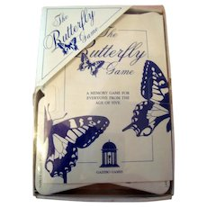 "Vintage Game - ""The Butterfly Game""- Family Fun - Memory Enhancer"