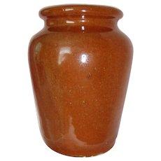 Vintage Scottish Small Glazed Earthenware Pot / Jar