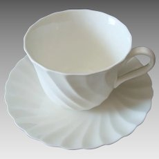 Wedgwood Candlelight Cup and Saucer - Vintage