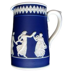 Dudson Bros., of Hanley - Jasperware -  Dancing Ladies Pitcher / Jug - Vintage
