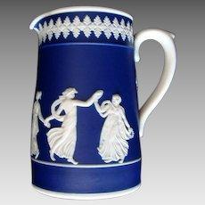 Dudson Bros., of Hanley - Jasperware -  Dancing Ladies Pitcher / Jug - Vintage
