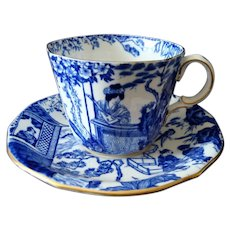 Royal Crown Derby - Mikado - Cup and Saucer - c1954