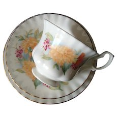 Royal Albert - Richmond - Trio - Cup, Saucer and Plate -Vintage