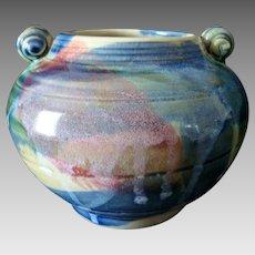 Smaller Art Pottery Vase - Jon Fairbairn - Country Potter - North Wales - Vintage