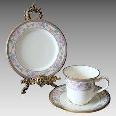 Noritake - Embassy Suite - Trio - Cup - Saucer - Plate - Vintage