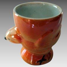 Chicken Lustre Ware Egg Cup - Vintage