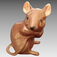 Exquisitely Modelled Vintage Mouse Figurine - England