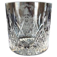 New Cut Glass Urns