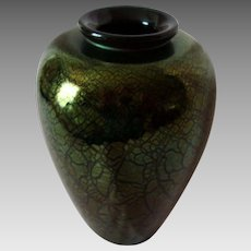 Unique Art Glass Vase - Artisan Crafted - Vintage - Exhibition Piece - Signed