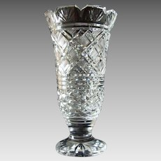 Waterford Crystal - Georgian Castle Vase - Cut Glass Museum Collection - Limited Edition