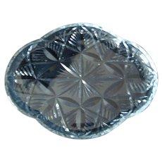 Edinburgh Crystal - Cut Crystal Dresser / Pefume Tray - Vintage