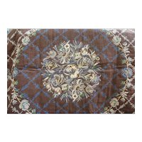 """Beautiful Vintage Tapestry Double Sized Throw 48"""""""