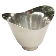 Tiffany Sterling Silver Mid-Century Tulip Shape Bowl Tiffany & Co Makers