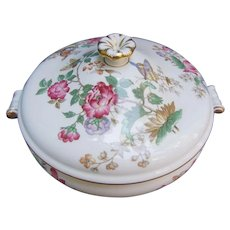 Wedgwood Charnwood Bone China Covered Vegetable Serving Bowl Tureen WD3984