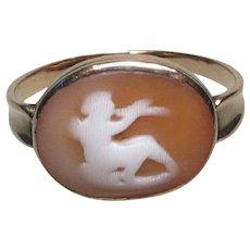 Georgian Gold Pan Cameo Ring