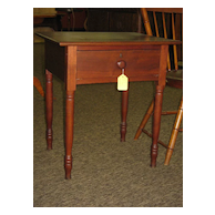 Early 19th Century Walnut One Drawer Stand Table