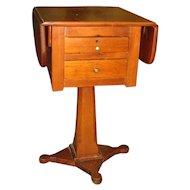 Antique Southern Pine Drop Leaf Table