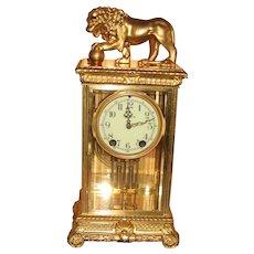 Seth Thomas Crystal Regulator Clock