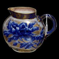Rare And Beautiful Royal Doulton Vase Cobalt Circa 1878