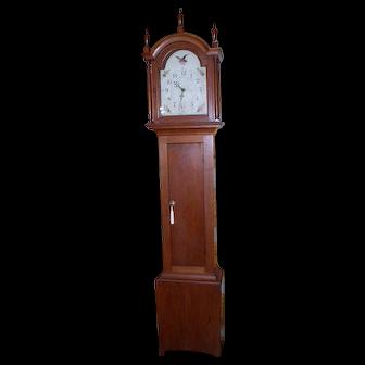 Thomas & Hoadley Tall Case Clock W/W