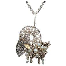 Aries Ram Necklace